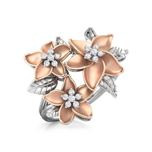 MARGUERITE, Bague Diamants pour Femme Or 18 carats - Collection Charme