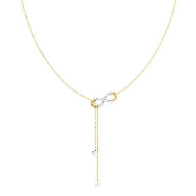 AMOUR INFINI, Collier pendentif diamant pour femme Or 18 carats