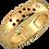 Thumbnail: Bague Alliance Diamants Mixte Or 18 carats, Divine