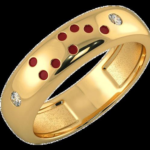 Bague Alliance Diamants Mixte Or 18 carats, Divine