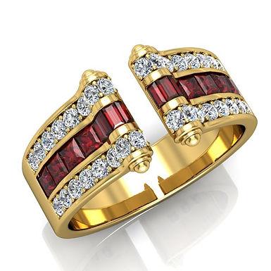 VENDOME ROYALE, Bague Joaillerie pour Femme Or Jaune 18 carats 750°