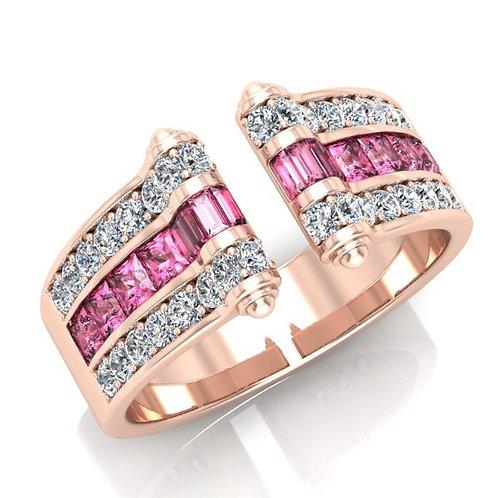 VENDOME ROYALE, Bague Joaillerie pour Femme Or Rose 18 carats 750° d'or fin