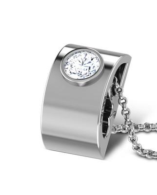 Pendentif collier or diamant pour femme, diamant pour femme, bijou pour femme