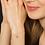 Thumbnail: Sidony, Bracelet Or Jaune 18 carats serti d'une Améthyste