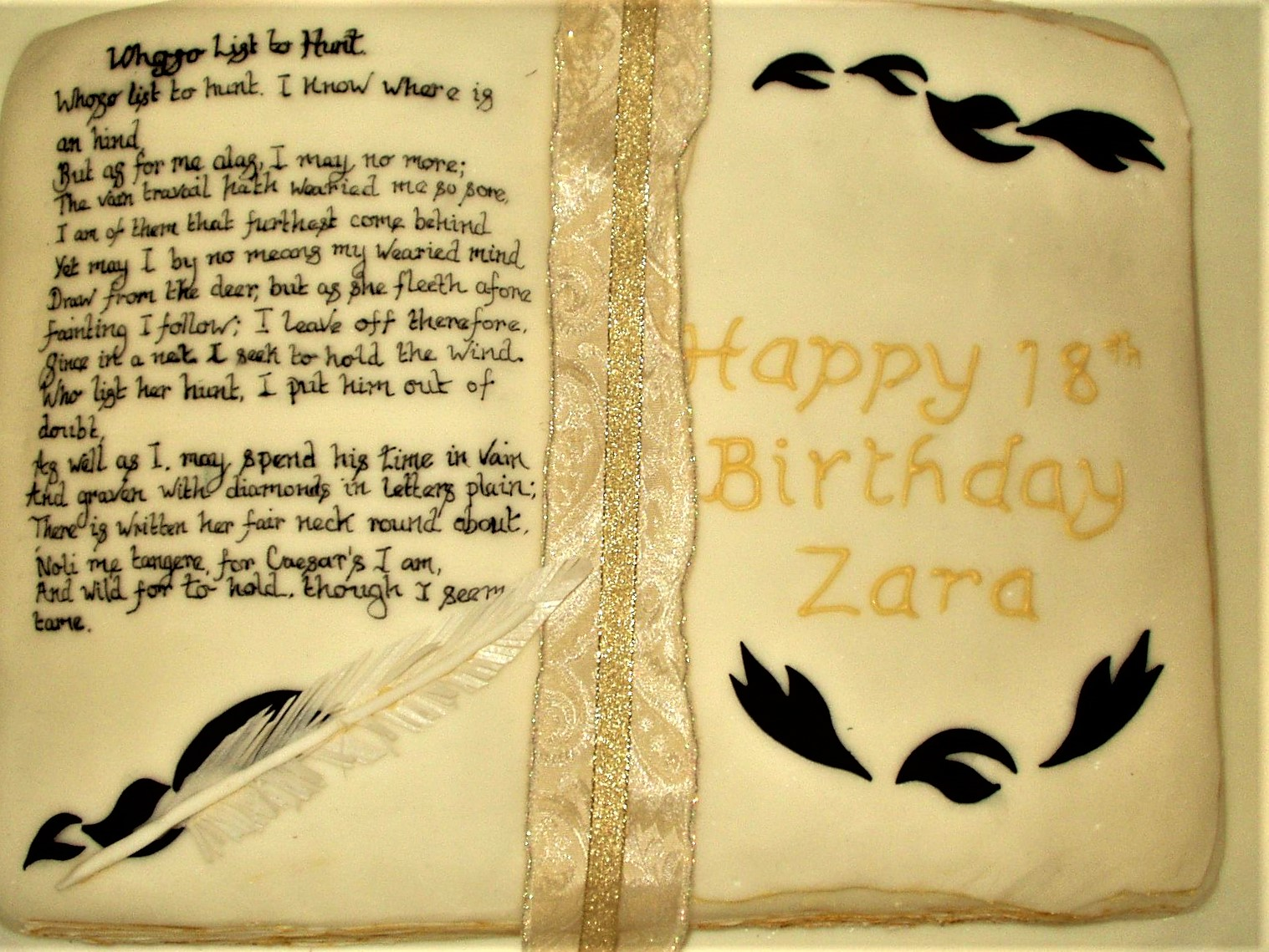 Birthday book of poetry