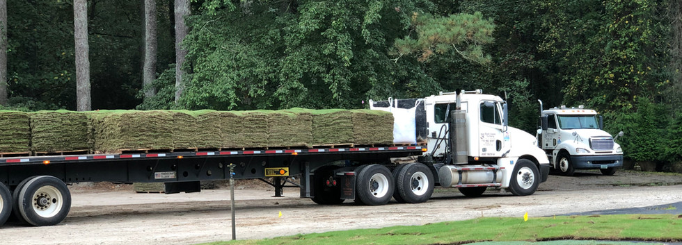 Sod Truck Loaded