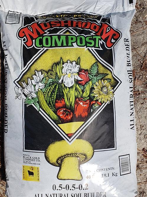 Mushroom Compost, 40lb bag