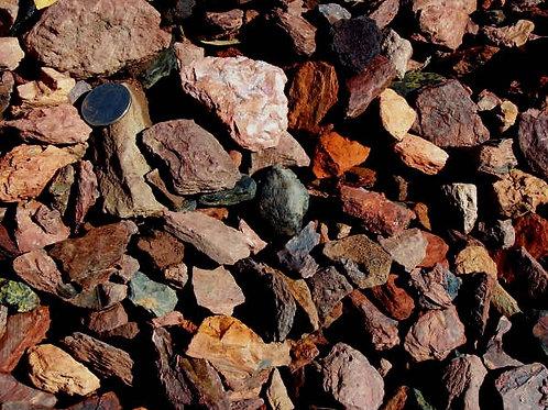 Bark Stone #1 - per ½ cubic yard scoop