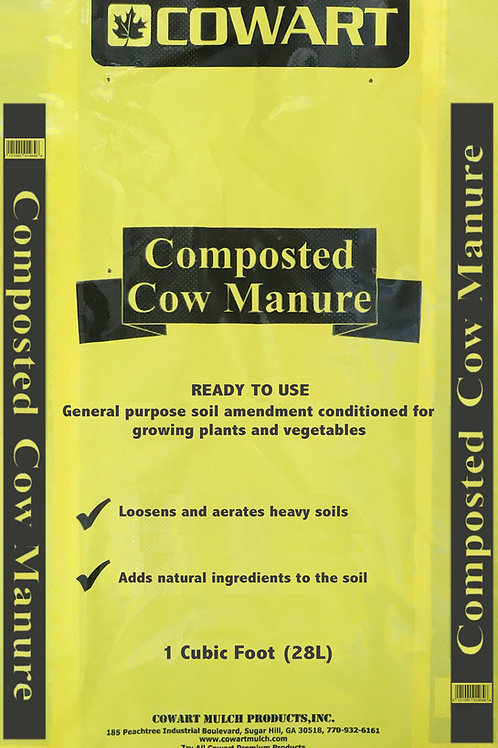 Cow Manure, 40lb bag