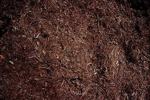Brown Mulch - per ½ cubic yard scoop