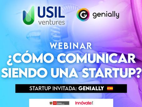 ¿Como comunicar siendo una startup? - Genially - USIL Ventures