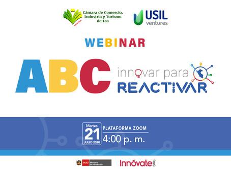 Webinar - ABC Innovar para Reactivar