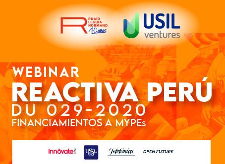 Webinar - Reactiva Perú DU 029-2020