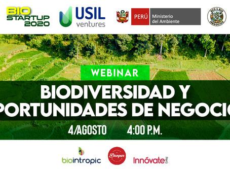 Webinar - Biodiversidad y oportunidades de negocio
