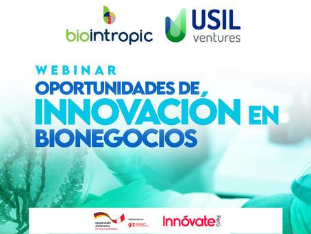 Webinar - Oportunidades de innovación en Bionegocios
