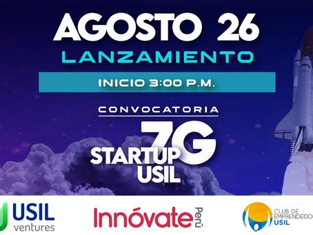 Lanzamiento - Startup USIL 7G