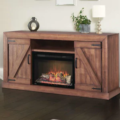 Napoleon Lambert 66-Inch Electric Fireplace Media Console with 27-Inch Cinema Fi