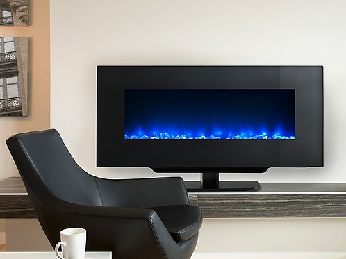 SimpliFire Wall-Mount Electric Fireplace