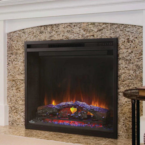 Napoleon Element 36-Inch Built-In Electric Fireplace - NEFB36H-BS