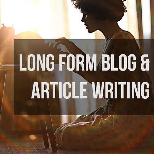 Long Blog Post