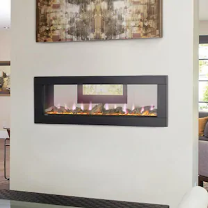 Napoleon CLEARion Elite See Thru Electric Fireplace - NEFBD50HE