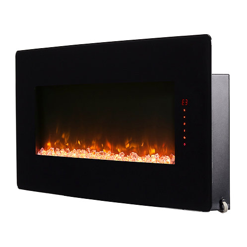 """Winslow 42"""" Wall-mount Electric Fireplace"""
