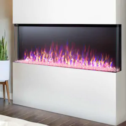 Napoleon Trivista 50-Inch 3-Sided Built-In Electric Fireplace - NEFB50H-3SV