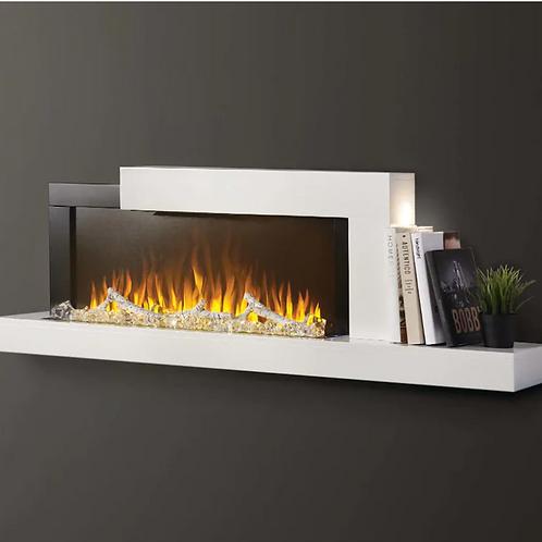 Napoleon Stylus 59-Inch Wall Mount Electric Fireplace With Shelf - NEFP32-5019W