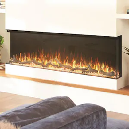 Napoleon Trivista 60-Inch 3-Sided Built-In Electric Fireplace - NEFB60H-3SV