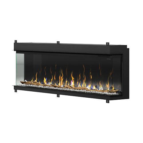 "IgniteXL Bold 74"" Linear Electric Fireplace"