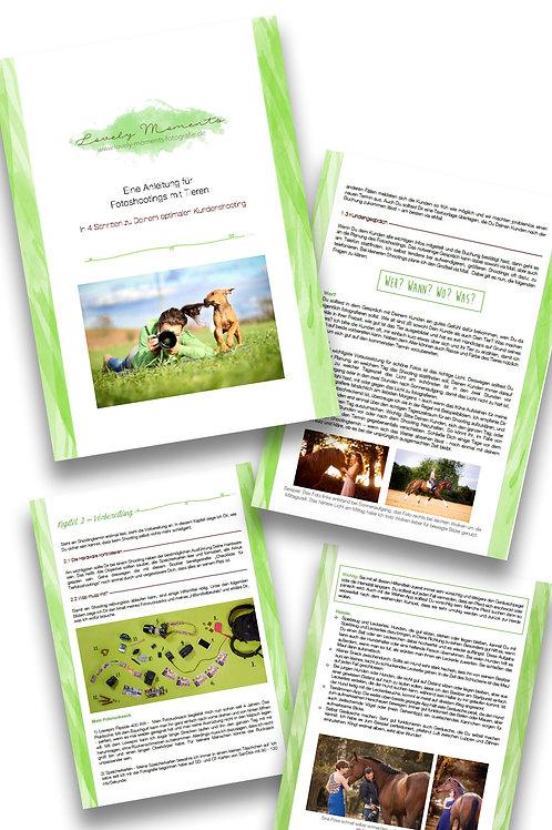 Anleitung für Tierfotoshootings