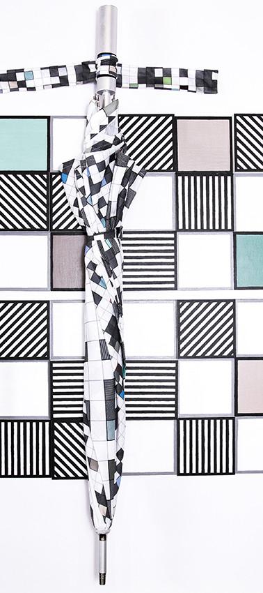 D7 '2x2' Sculpture - parasol