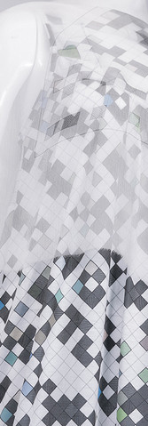 D7 Summer Dress - silk chiffon scarf
