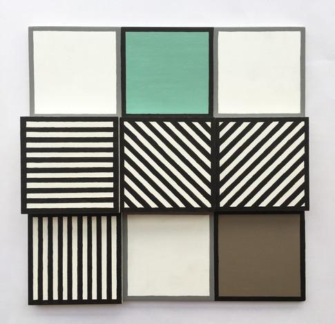 'D7 3x3, Tile 1', 2020