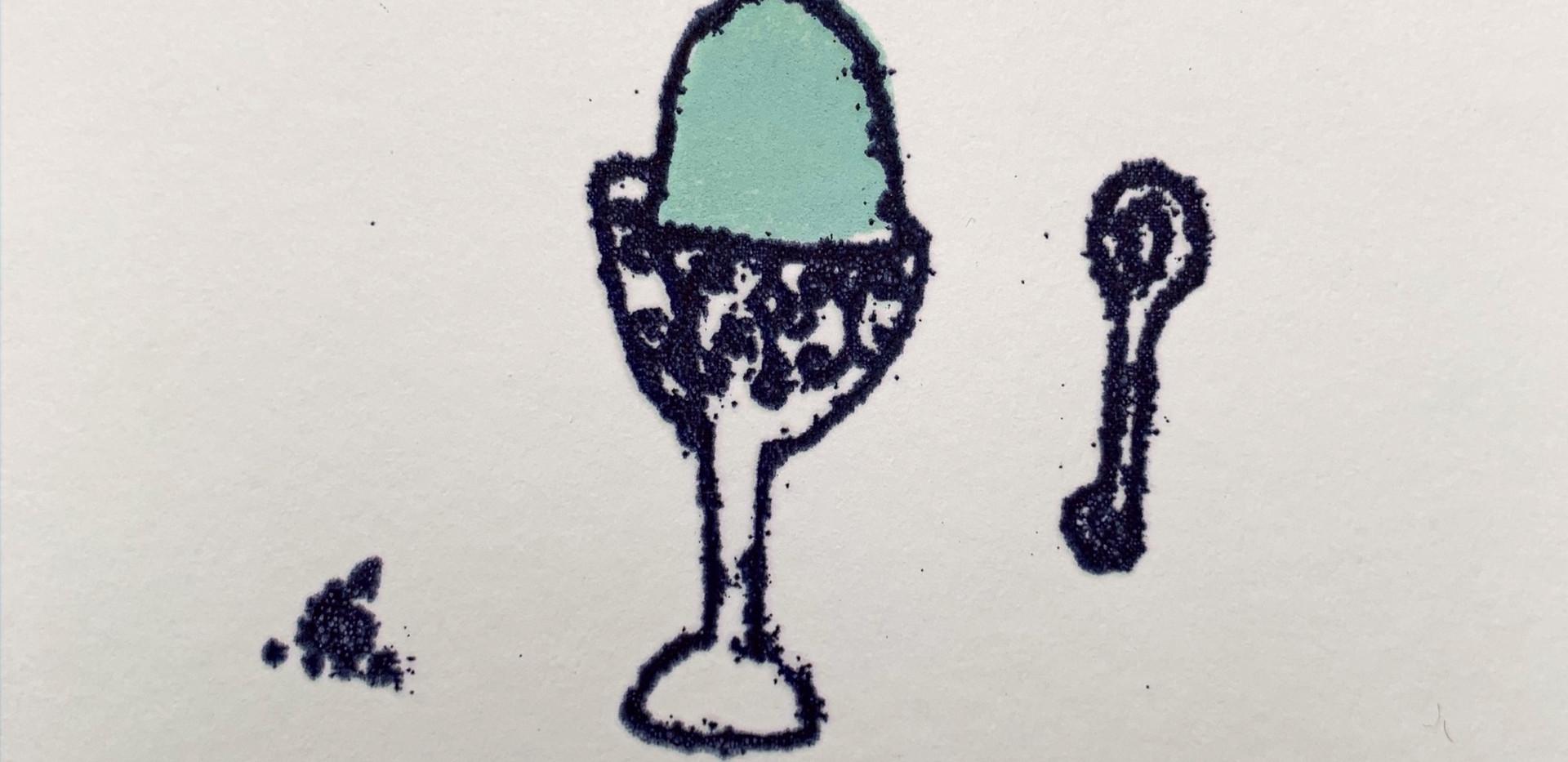 Blue Egg, small