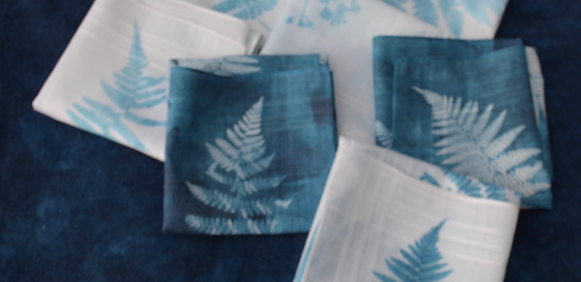Handkerchiefs, £4.95 each + p&p.
