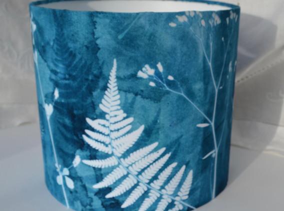 Hedgerow Design, 20cm Drum, Table Lampshade.  £29.95 + p&p.