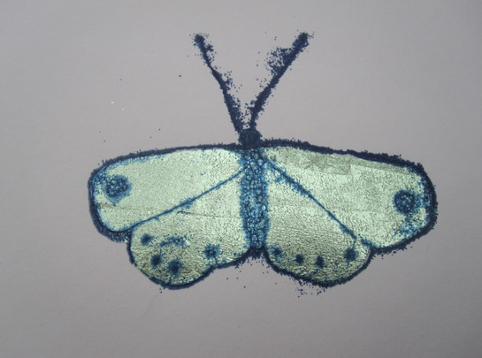 Butterfly 3, 10x8cm. Unmounted £15 + p&p.