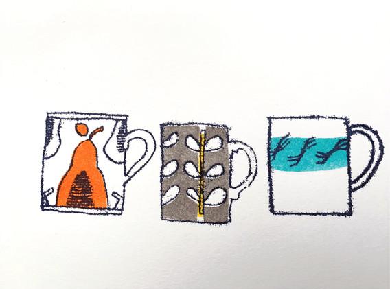 Mugs of Joy! blue