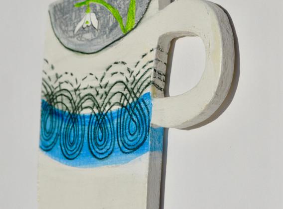 ER Persephone Mug, 12x12cm. £20 + p&p.