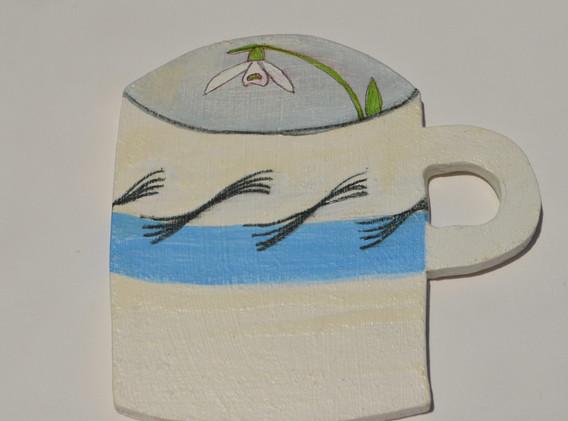 ER Garden Mug, 12x12cm.  £20 + p&p.