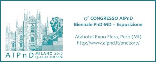 AIPnD Milano 2017, October 25 - 27