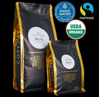 Cascadia Fair Trade Organic Swiss Water Decaf Blend