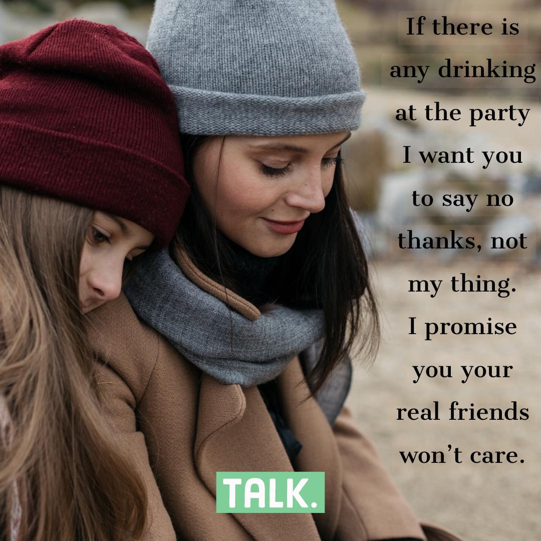 Talk - Underage Drinking