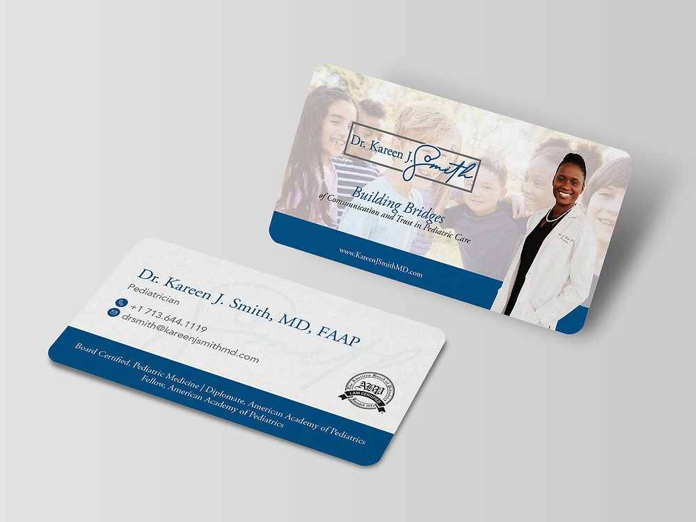 Business Card - Dr. Kareen J. Smith