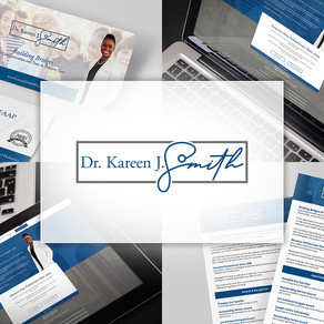 Client Spotlight - Dr. Kareen J. Smith    Branding a Pediatrician