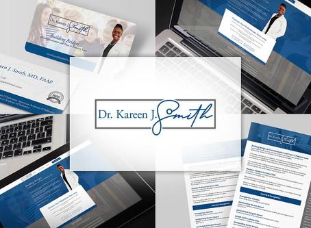 Client Spotlight - Dr. Kareen J. Smith |  Branding a Pediatrician