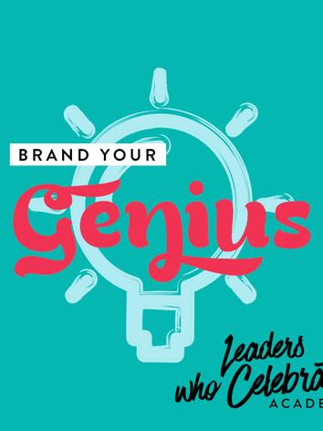 Brand Your Genius Presentation