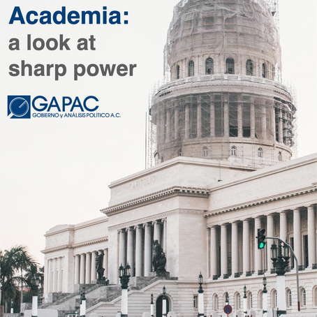 The Cuban State and the Latin Americanist Academia: a look at sharp power