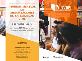Reunión Mensual de Asociaciones Civiles